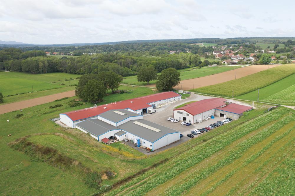 Site de production en Franche Comté